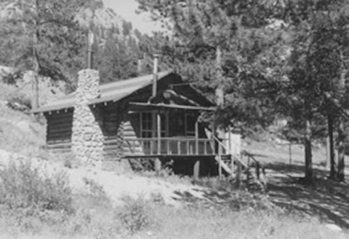 Rocky Mountain Park, Summer 1958